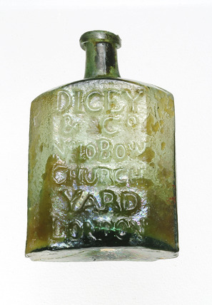 Medicine bottle: 18th century