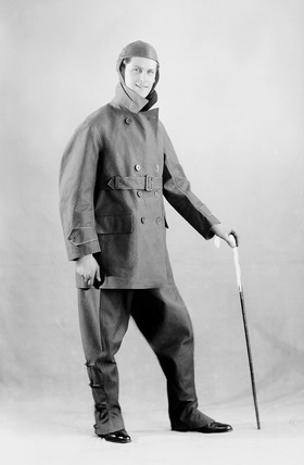 Photograph of Captain Cricket: 1930