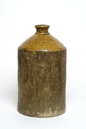 One gallon storage jar without handle: 1901-80