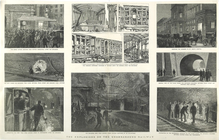 The explosions on the underground railway: 1883