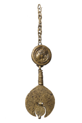 Roman military-type stud and pendant