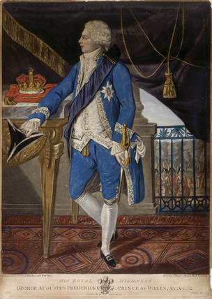 His Royal Highness George Augustus Frederick, Prince of Wales &c &c: 18th century