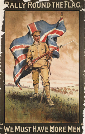 Rally Round the Flag We Must Have More Men: 1915