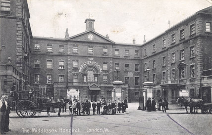 The Middlesex Hospital: 1910