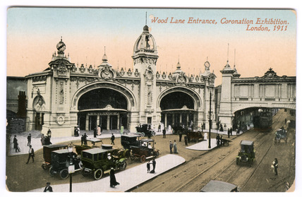 Wood Lane Entrance,Coronation Exhibition, London: 1911