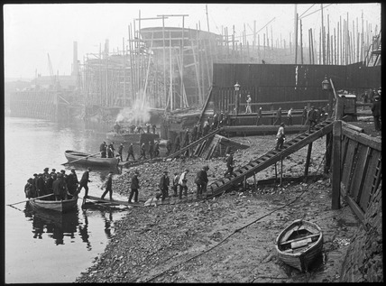 Thames ironworks: 20th century