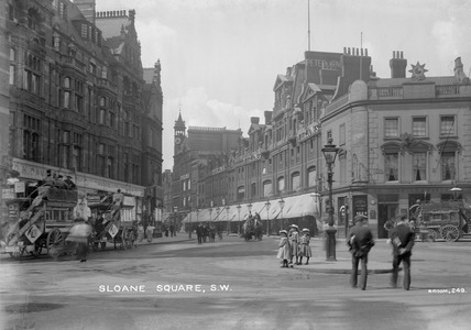 Sloane Square  Chelsea: 20th century