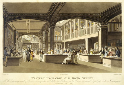 Western Exchange, Old Bond Street: 1817