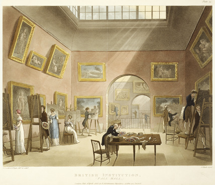 British Institution at Pall Mall: 1808