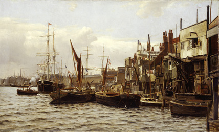 The Riverside at Limehouse: 19th century