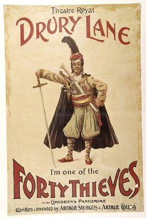 Theatre playbill: 19th century