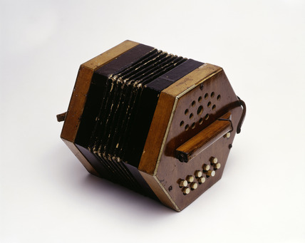 Albert Chevalier's concertina: 20th century