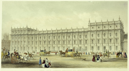 The new public offices Whitehall: 19th century