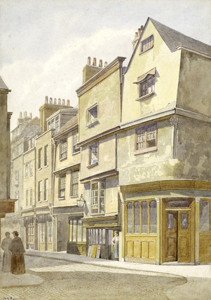 Cloth Fair at West Smithfield: 19th century