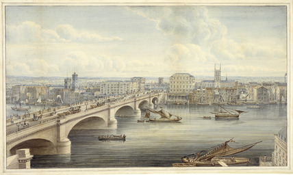 New London Bridge: 1833