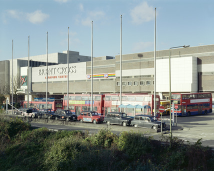 Brent Cross Shopping Centre and bus station: 1999