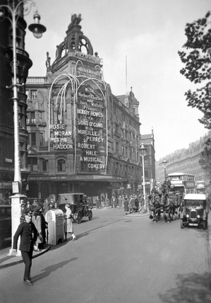 London Hippodrome on Cranbourn Street: 20th century
