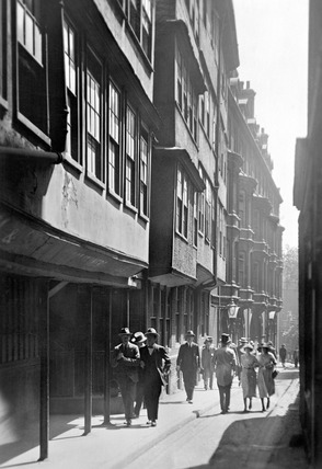 Middle Temple Lane: 20th century