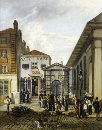 The Watch House, Covent Garden: 19th century