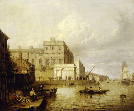 Greenwich Hospital from the River: 1835