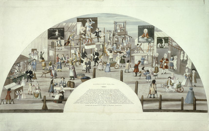 Bartholomew Fair in 1721: 18th-19th century