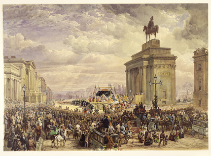 Funeral of the Duke of Wellington: 1852