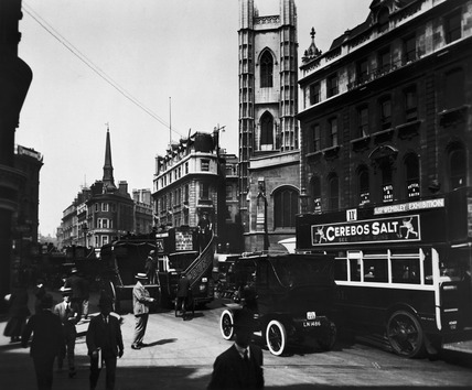 Cannon Street, looking west: 20th century