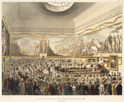 Society for the Encouragement of Arts &c, Adelphi: 1809