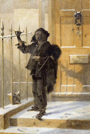 Sweep Boy 19th Century By Henry George Hine At Museum Of
