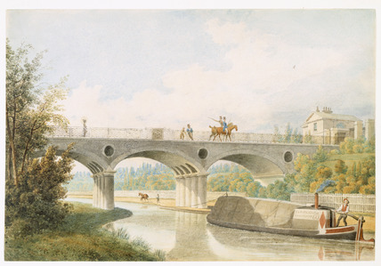 View of the Regent's Canal: 1823