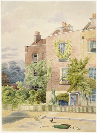 View of J. M. W. Turner's Cottage: 1852