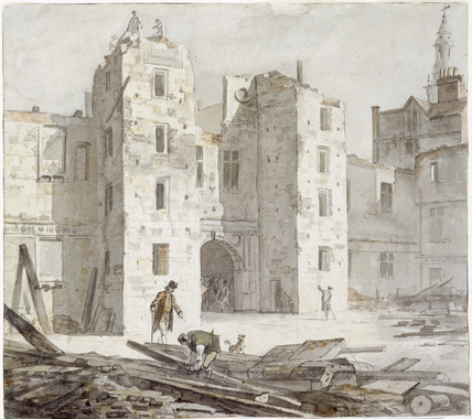 Demolition of Somerset House: 18th century