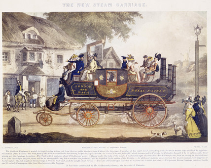 The New Steam Carriage: 1828