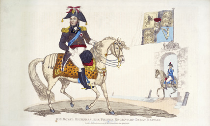 His Royal Highness, the Prince Regent of Great Britain: 1815