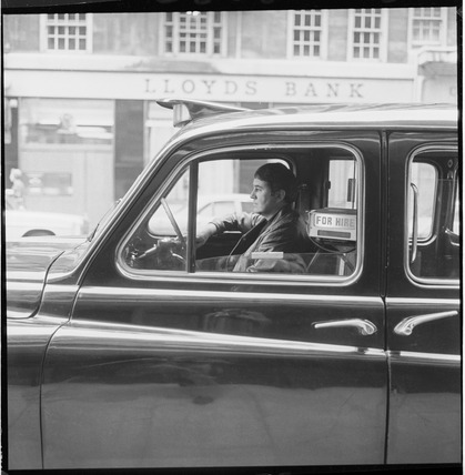 Black Cab taxi driver: 20th century