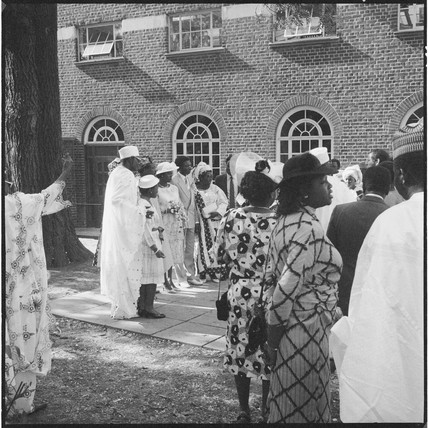 A Nigerian wedding in Willesden: 1985