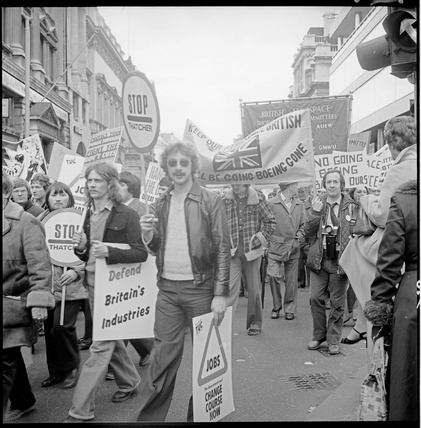 Trades Union Congress demonstration: 1980