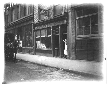 The Levy Brothers Jewish Bakery,  Whitechapel: c.1900