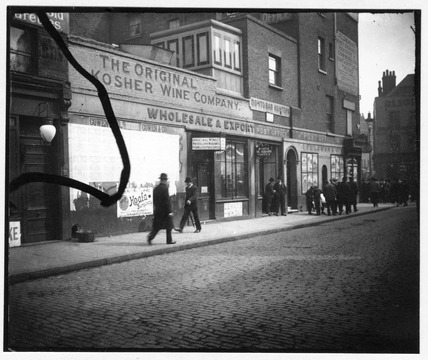 The Original Kosher Wine Company premises, E1: c.1900