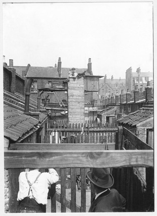 Backyards of Workers' Homes: c.1900
