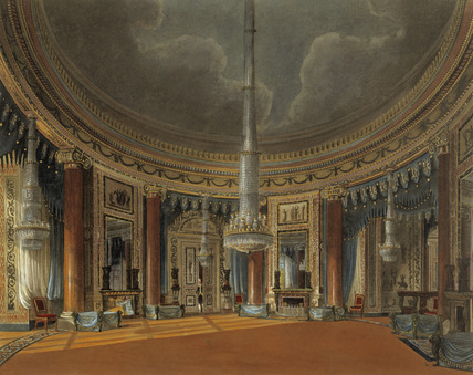The Circular Room, Carlton House: 1819