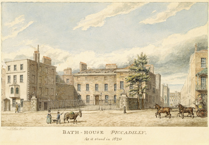 Bath House, Piccadilly: 19th century