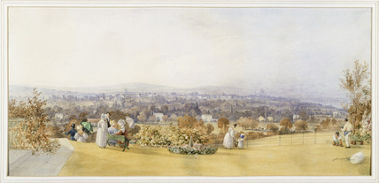 London from the South: 1836