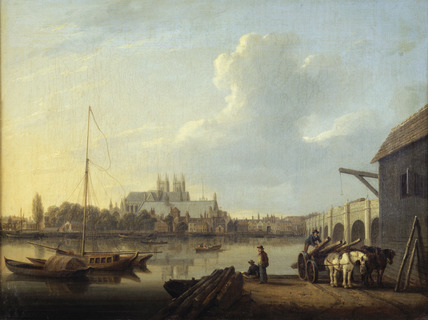 Westminster from the South: 19th century
