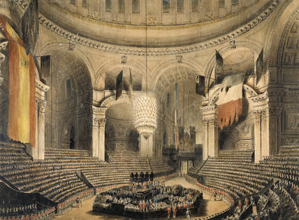 Nelson's Funeral in St Paul's: 1806