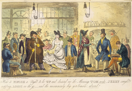 How to finish a night to be up and dressed in the morning: 19th century