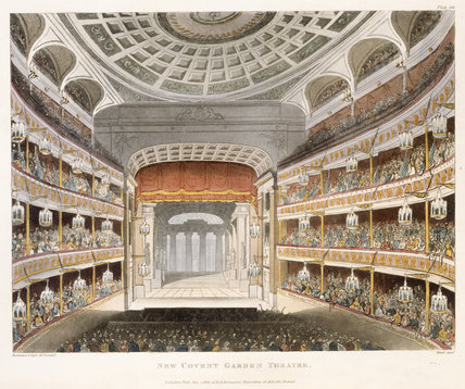 New Covent Garden Theatre: 1810
