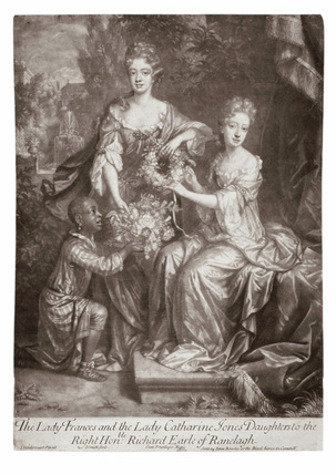 The Lady Frances and the Lady Catherine Jones Daughters to the Right Hon:ble Richard Earle of Ranelagh: 17th century