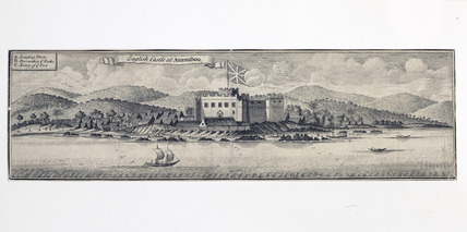 English Castle at Anamabou: 18th century