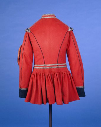 Doggett coat, back view: 19th century